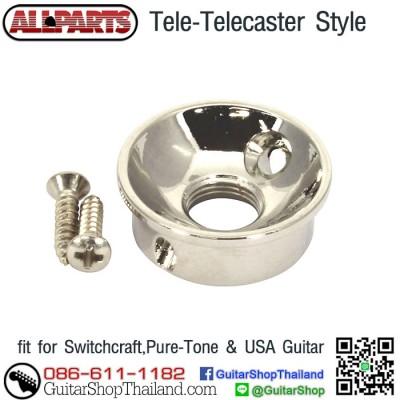 ฝาแจ็คกีตาร์เทเล Allparts AP-5270-001Nickel
