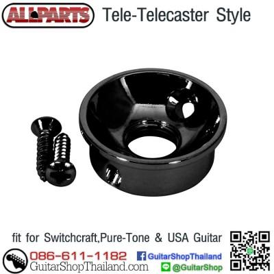 ฝาแจ็คกีตาร์เทเล Allparts AP-5270-003 Black