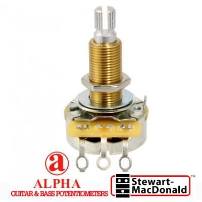 พอทแกนยาว Alpha®A500k Audio Taper