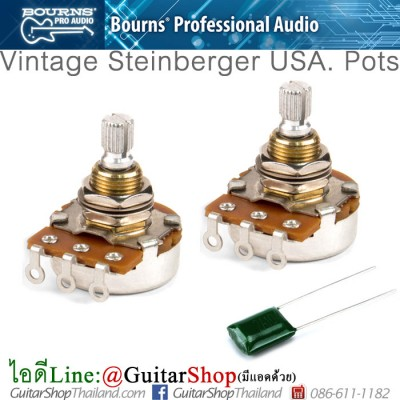 ชุดพอทกีตาร์ Steinbeger USA 25K BOURNS®