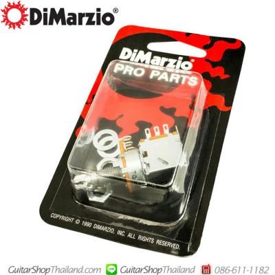 ดิมาซิโอ้พอทตัดคอยล์แบบดึง A500K DPDT Push/Pull