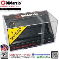 ปิคอัพ DiMarzio® D Activator-X™ Neck DP221BK