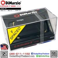 ปิคอัพ DiMarzio® D Activator-X™ Bridge DP222BK
