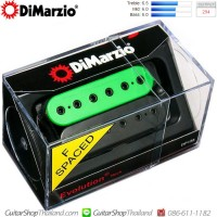 ปิคอัพ DiMarzio®DP158 Evolution®Neck F-Spaced ฺBlack/Green
