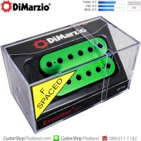 ปิคอัพ DiMarzio®DP158 Evolution®Neck F-Spaced Green