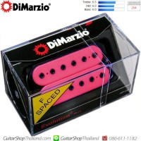 ปิคอัพ DiMarzio®DP158 Evolution®Neck F-Spaced Pink
