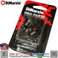 DiMarzio Strat® Knobs Set Black