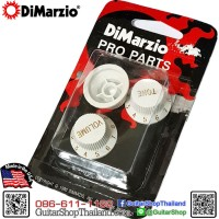 DiMarzio Strat® Knobs Set White