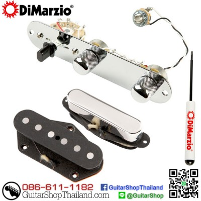 ปิ๊กอัพ DiMarzio Vinatage Twang King™ Pickup Set