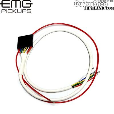 สายไฟปิ๊คอัพ EMG 7pin 38cm