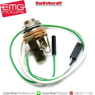 สายวงจร EMG Out put Jack Switchcraft