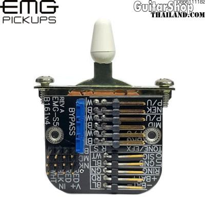 สวิตซ์กีตาร์ EMG®5-Position Switch White Tip