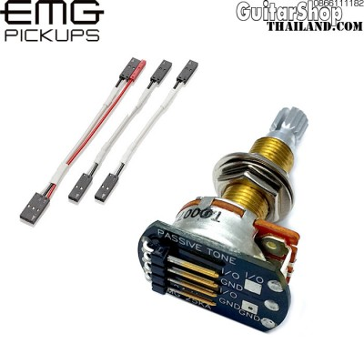 พอทโทน EMG® 25K Tone Long Shaft Solderless