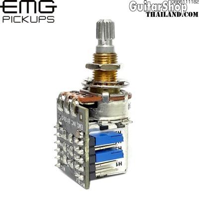 พอทตัดคอยล์แบบดึง EMG®25K DPDT Push/Pull