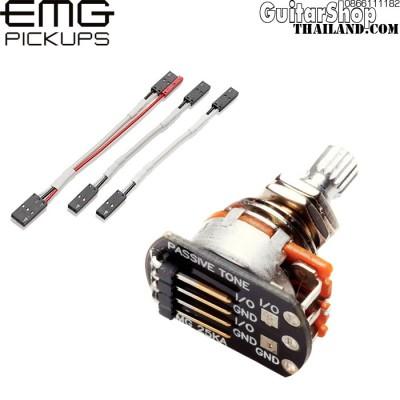พอทโทน EMG® 25K แกนสั้นพร้อมสาย