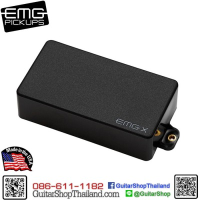 ปิ๊กอัพ EMG® 60X Active Pickup Black