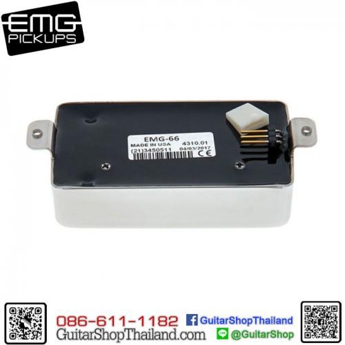 ปิ๊กอัพ EMG® 66 Active Pickup Chrome