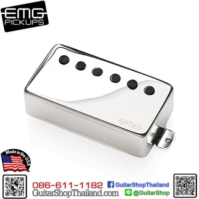 ปิ๊กอัพ EMG® 66 Active Pickup Chrome