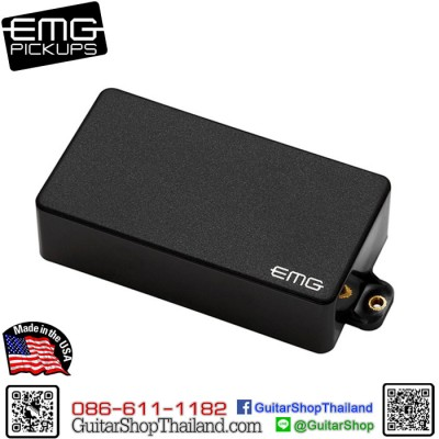 ปิ๊กอัพ EMG® 81Active Pickup Black