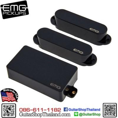ปิคอัพ EMG® SA/SA/81 Black Set