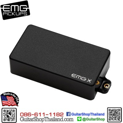 ปิ๊กอัพ EMG® 81X Active Pickup Black