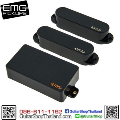 ปิคอัพ EMG® SA/SA/89 Black Set
