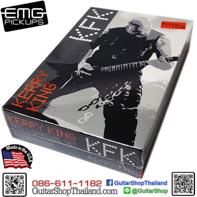 ปิ๊กอัพ EMG® KFK Kerry King Black