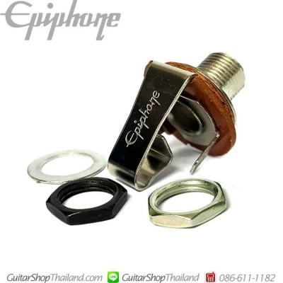 แจ็คกีตาร์ Epiphone®Nickel/Black Nut