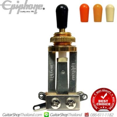 สวิตซ์กีตาร์ Epiphone®3Way Long Straigh Gold