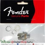 แจ็คกีตาร์ Fender®USA Stereo Nickel