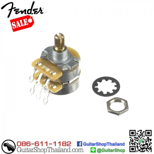 พอทกีตาร์ Fender® CTS Dual 250k/500k Solid Shaft Pot