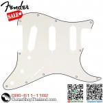 ปิคการ์ด Fender Strat® SSS 11Hole 3Ply Parchment