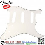 ปิคการ์ด Fender Strat® SSS 3Ply 11hole White