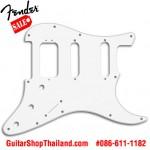ปิคการ์ด Fender Strat®HSS 3Ply White