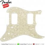 ปิคการ์ด Fender Strat® HH 11Hole 4Ply Age White Moto
