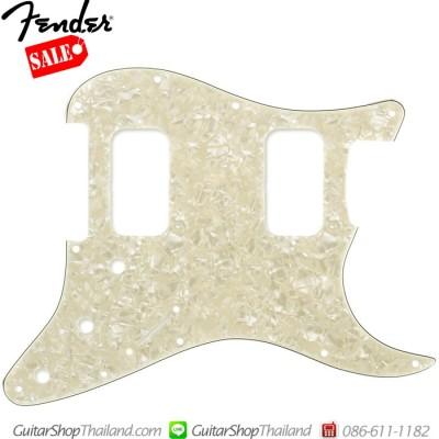 ปิคการ์ด Fender Strat® HH 4Ply Age White Pearl