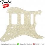 ปิคการ์ด Fender Strat®HSS 4Ply Age White Pearl