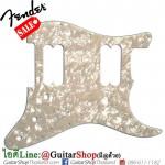 ปิคการ์ด Fender Strat® HH 11Hole 4Ply White Moto Pearl