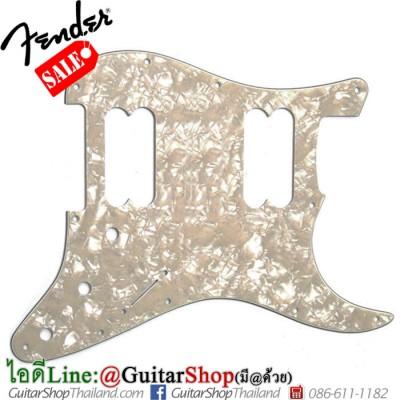 ปิ๊กการ์ด Fender Strat® HH 11Hole 4Ply White Moto Pearl