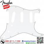 ปิคการ์ด Fender Strat® SSS 11hole 3Ply White