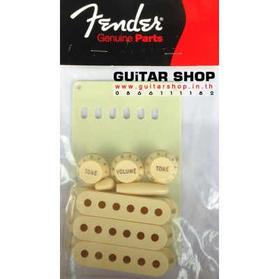 Fender Stratocaster Accessory Kit Cream