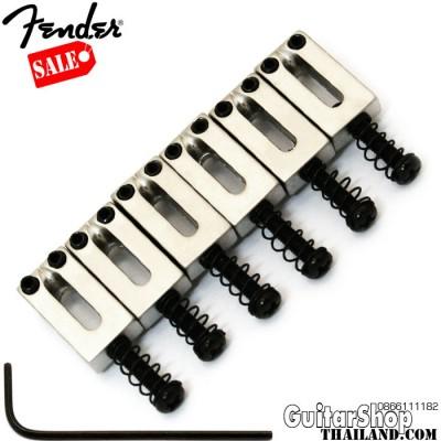 แซดเดิล Fender Strat-Tele Satin chrome