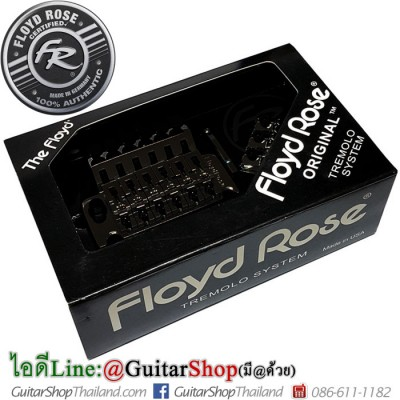 ชุดคันโยก Floyd Rose Original 1000 Series Black Nickel