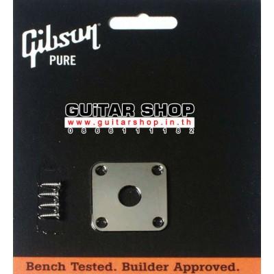 ฝาแจ็คกีต้าร์ Gibson®Les Paul Chrome
