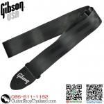 """สายสะพาย Gibson® 2"""" The Seatbelt Black"""
