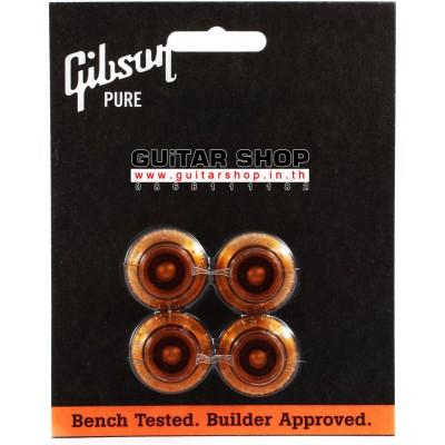 ฝาโวลุ่มโทน Gibson® Tophat Knobs Amber
