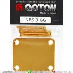 เพลทยึดคอกีตาร์ Gotoh®NBS-3GG