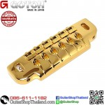 หย่อง G-GOTOH® 510UB Wrap Around Bridge Tailpiece Gold