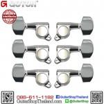 ลูกบิด GOTOH® 3+3 SGM-01 Chrome