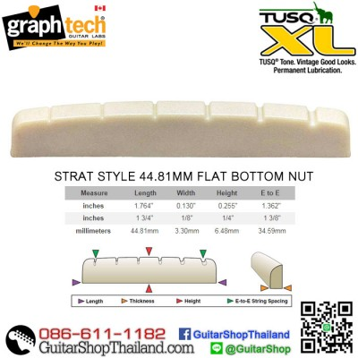 นัทกีตาร์ Graph Tech® TUSQ XL-STRAT 44MM(OEM)